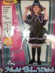 ハロウィン KIDS ドレス 魔女 100~120